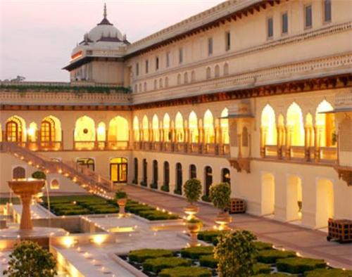 The Architectural Splendor of the Huzoor Palace