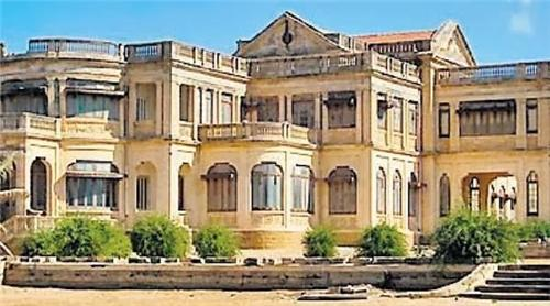 Huzoor Palace in Porbandar