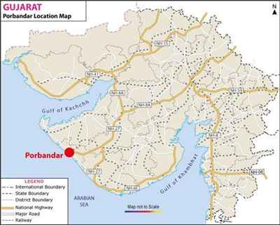 Geography of Porbandar