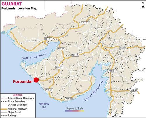 Geography of Porbandar