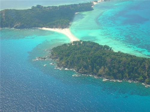 The Whole of the Cinque Island at Andaman