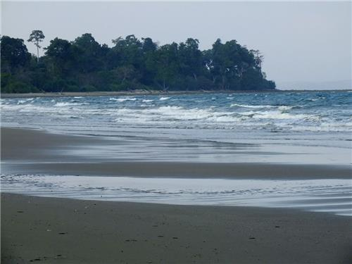 Karmatang Beach of Mayabunder of Andaman