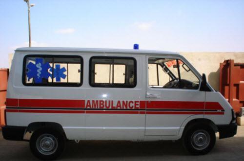 Ambulance in Raiganj