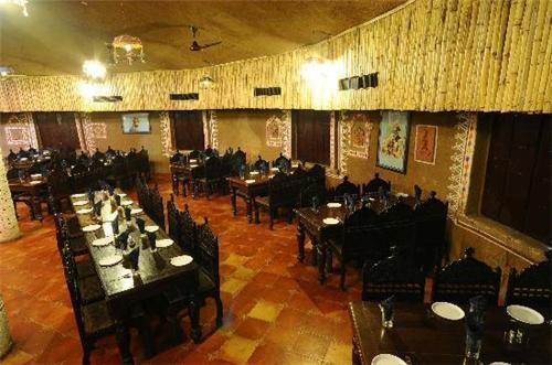 Lavish Dining at Madhuli Restaurant in Chouki Dhani Resort