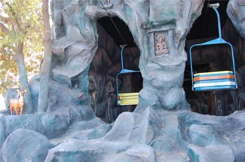 Thrilling Ropeway rides in Fun World Amusement Park