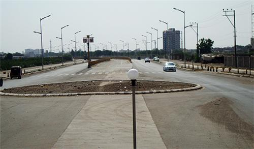 Roads and Street Lights installed by RMC in Rajkot