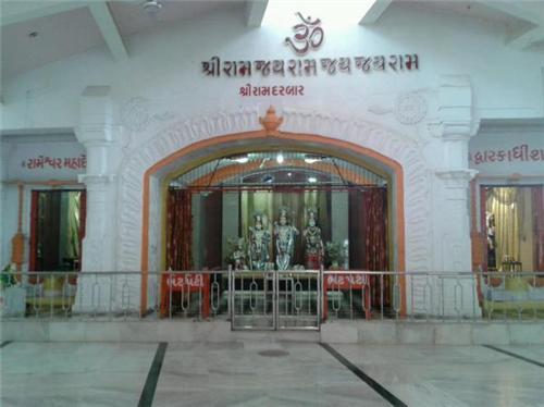 Well Known Shri Ram Charitmanas Temple in Rajkot