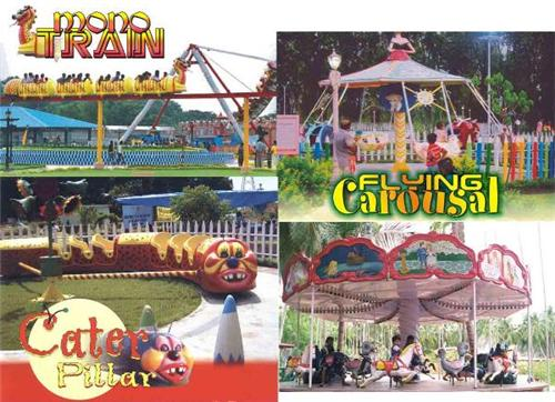 Entertainment at Amusement Parks in Rajkot