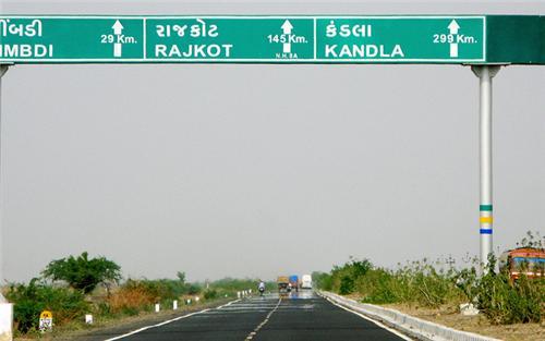 Major Highways in Rajkot