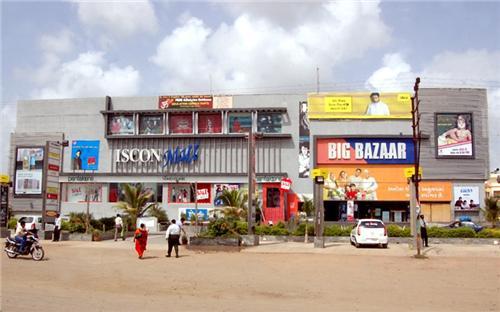 Iscon mall in Rakjot