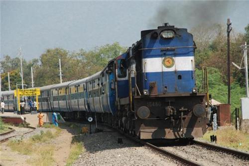 Trains passing through Rajkot Railway Station