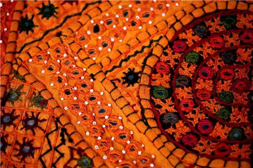 Kutch Embroidery Cloth