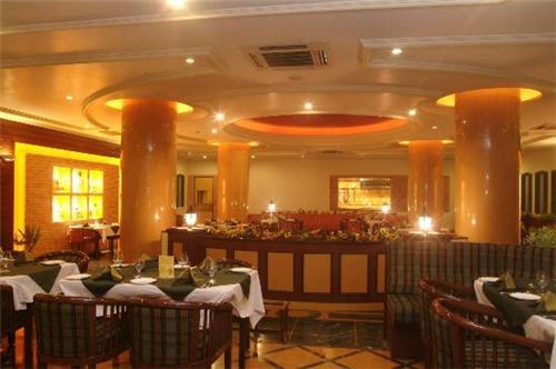 Restaurant Facility at The Grand Regency Hotel in Rajkot