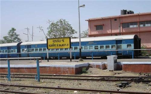 How to reach Rajkot by Train