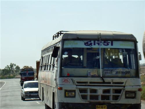 Bus Transport in Rajkot