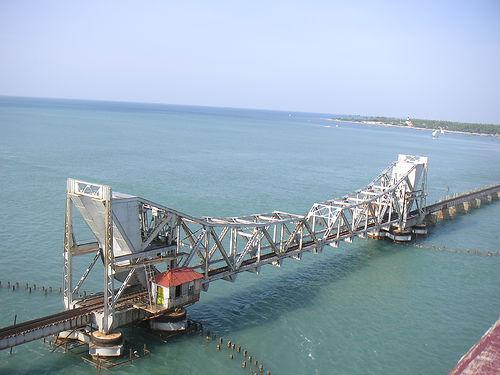 Rameswaram Pamban Railway Bridge