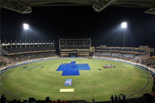 Watching IPL at JSCA Stadium in Ranchi