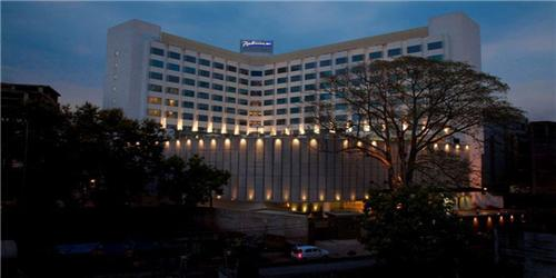 Gradeur View of Radisson Blu Hotels & Resort in Ranchi