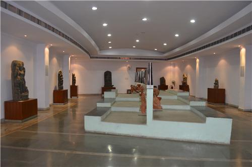 Historical Sculptures Displayed at State Museum in Ranchi
