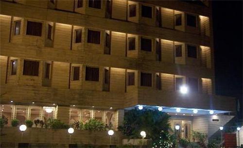 Premises of Hotel Yuvraj Palace in Ranchi
