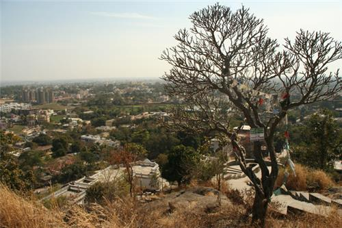 Panoramic View of Ranchi City from Tagore Hill