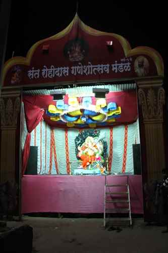 Photos of Ganeshutsav in Sangli