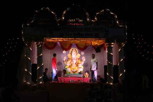 Celeberations in Sangli