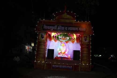 Ganesh Utsav Pandals in Sangli