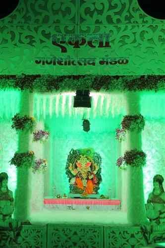 College Corner Sangli Ganesh Utsav
