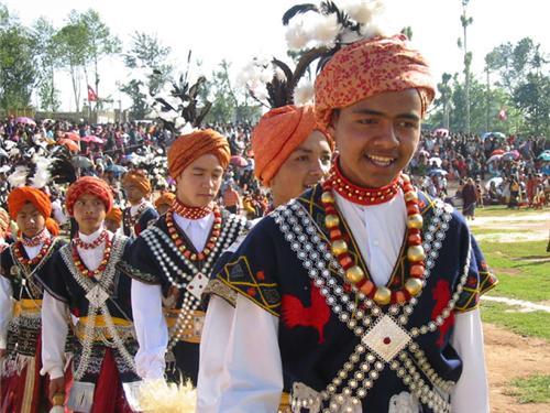 Khasi Celebrating Festival