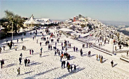 Activities and Thrill at Fagu Skiing Resort in Shimla