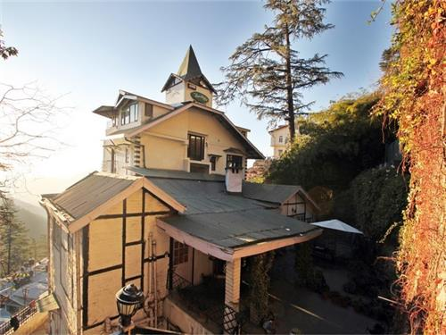 Panoramic View of Alpine Heritage Hotel in Shimla