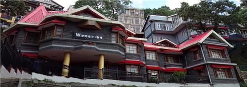 Wonderful Location of Wingait Heritage Hotel in Shimla
