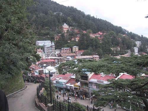 Shimla Hill
