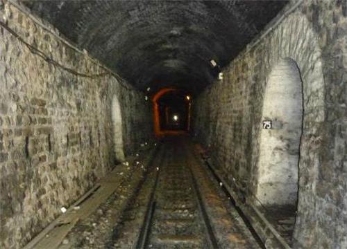 Inside the Tunnel 33 in Shimla