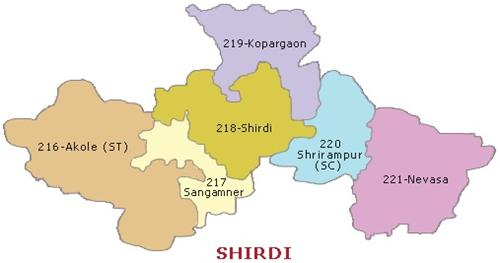 MPs and MLAs from Shirdi