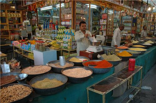 Spice market in Singrauli