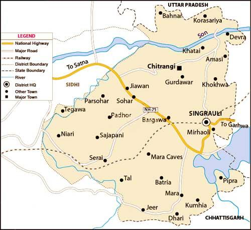 Geography of Singrauli