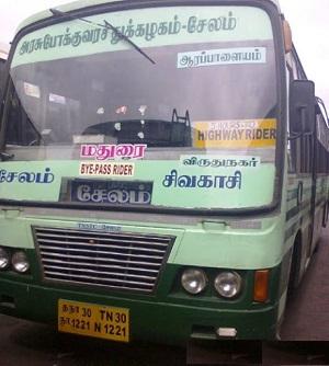Sivakasi Bus Services