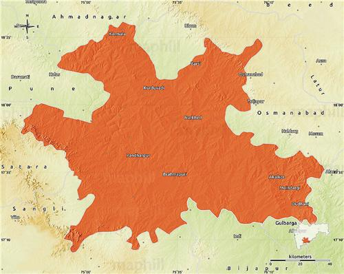 Geography of Solapur
