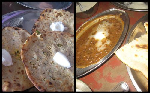 Stuffed paranthas in Murthal