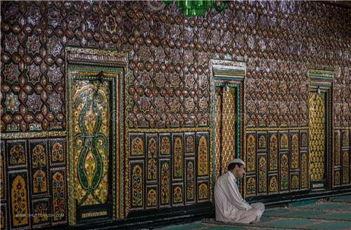 Inside Khanqah of Shah Hamdani