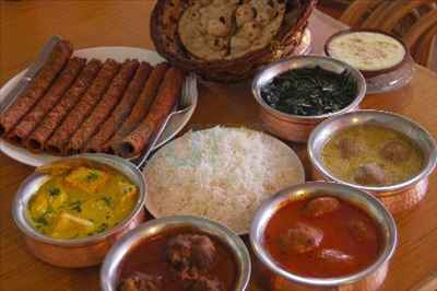 Food in Srinagar