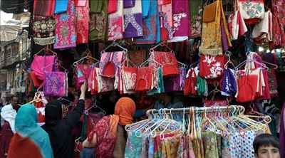 Shopping in Srinagar