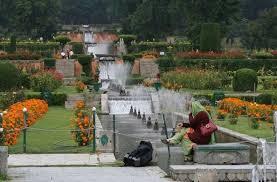 Terraces of Nishat Bagh