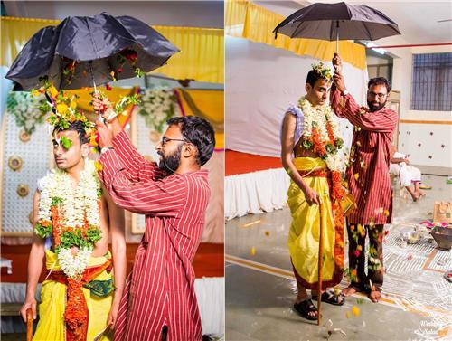 Ritual in Thanjavur Wedding