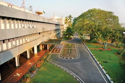 Location of Vikram Sarabhai Space Center in Thiruvananthapuram