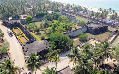 Anchuthengu Fort near Trivandrum