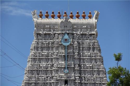 Architecture of Tiruchendur Temple