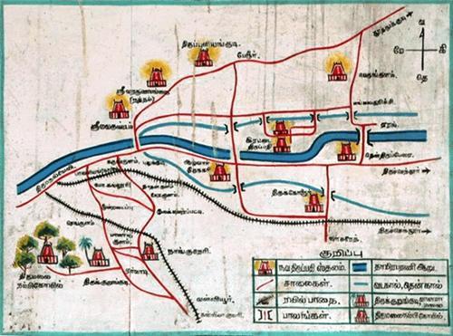 Map of Navathirupathi